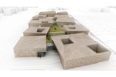 Image 1 of 21 from gallery of Day Care Village Competition Entry / PRAUD. Courtesy of PRAUD