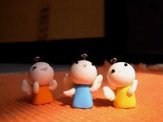 polymer clay 軟陶公仔小天使 fimo by CiCi Fimo, via Flickr
