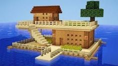 Minecraft: How to Build a Survival House on Water – House Tutorial – Minecraft S… - Minecraft World Minecraft Water House, Modern Minecraft Houses, Minecraft Structures, Minecraft House Designs, Minecraft Architecture, Minecraft Buildings, Minecraft Legal, Plans Minecraft, Minecraft World