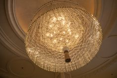Octagon, Ceiling Lights, Beverly Wilshire, Hotels And Resorts, Crystal Chandelier, Light, Chandelier