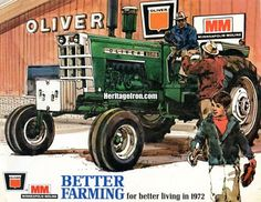 Today's #VintageAdWednesday comes from the Better Farming for Better Living in 1972 Buyer's Guide.