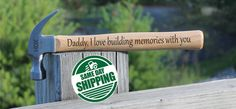 Engraved Hammer, Christmas Gifts for dad from daughter, Engraved Hammer for dad, Christmas Gifts for dad from Son, Personalized Hammer – Gift Basket Ideas Grandpa Birthday Gifts, Dad Birthday Card, Grandpa Gifts, Husband Birthday, Diy Birthday, Birthday Ideas, Boyfriend Birthday, Husband Anniversary, Anniversary Gifts