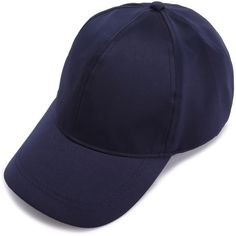 Navy Satin Baseball Cap (22 BRL) ❤ liked on Polyvore featuring accessories, hats, navy, navy blue hat, ball cap, baseball caps, baseball hats and navy baseball hat