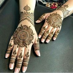 We have got a list of top Mehndi designs for Hand. You can choose Mehndi Design for Hand from the list for your special occasion. Circle Mehndi Designs, Round Mehndi Design, Legs Mehndi Design, Back Hand Mehndi Designs, Latest Bridal Mehndi Designs, Mehndi Design Pictures, Mehndi Designs For Girls, Mehndi Designs For Beginners, Wedding Mehndi Designs