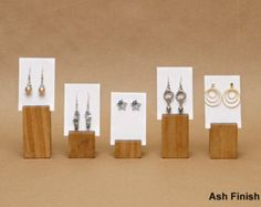 Earring Holder / Earring Card Display / Earring Stand / by USAVECO