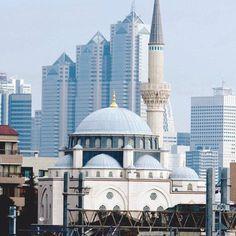 PINTEREST: @MUSKAZJAHAN - mosque in Tokyo pics #islamicarchitecture