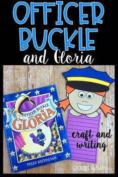 After reading Officer Buckle and Gloria by Peggy Rathmann, students can create a safety kid craft. This can be attached to a writing page where students can respond to the story. There are four hairstyle options included. You will also find comprehension