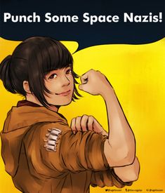 This Badass Fanart of The Last Jedi's Rose Tico Is My 2018 Mood   The Mary Sue