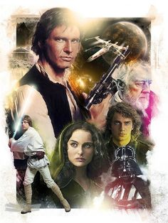 star wars poster.