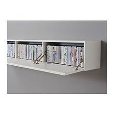 Ez jól passzolna tárolónak a TV-s szekrény fölé RAMSÄTRA Falszekrny - IKEA