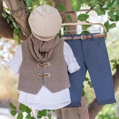 Alkis- Alkis Alkis - # BabyGamesforboys Baby When they're around three and four months old, children can hold their heads up and give extraand Baptism Outfit, Boy Baptism, Baby Christening, Baby Girl Fashion, Teen Fashion, Baby Boy Outfits, Kids Outfits, Boy Decor, Baby Boy Gifts