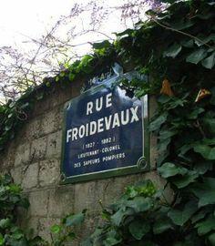 La rue Froidevaux  (Paris 14ème).