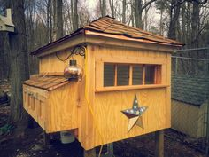 The Dubuc homemade chicken coop