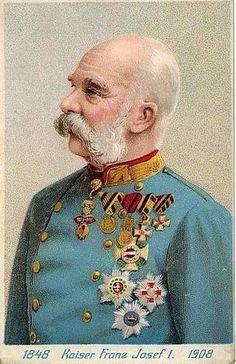 Kaiser Franz Joseph I. von Österreich, Emperor of Austria  by Miss Mertens, via Flickr