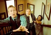 Review of Evergreen Players 'Black Comedy'