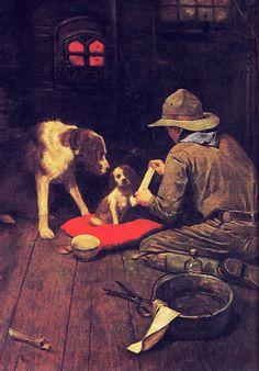 Norman Rockwell Red Cross Magazine 1918 - ノーマン・ロックウェル - Wikipedia