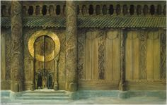 The Golden Hall of Edoras and the Vikings   Architectures of Middle-Earth
