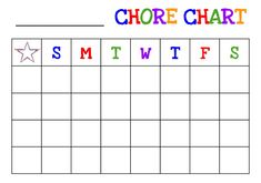 Free Chore Chart Printable Lovely Printable Chore Charts New Charts for Kids Valid Printable Printable Chore Cards, Free Printable Chore Charts, Weekly Chore Charts, Chore Chart Template, Free Printables, Chore List, Calendar Printable, Chore Chart For Toddlers, Charts For Kids
