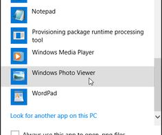 How to Bring Back Old Windows Photo Viewer in Windows 10 http://www.yologadget.com/how-to/how-to-bring-back-old-windows-photo-viewer-in-windows-10