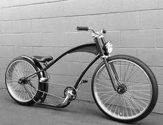 Velo Vintage, Vintage Bikes, Cool Bicycles, Cool Bikes, Gas Powered Bicycle, Lowrider Bicycle, Motorised Bike, Beach Cruisers, Bike Illustration