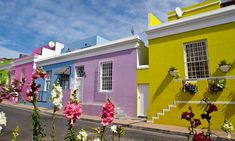 Cape Town, South Africa Bo-Kaap, a multicultural neighbourhood of Cape Town formerly known as the Malay Quarter, is celebrated for its picturesque colourful homes Photograph: Anne-Marie Weber/Getty Images Top Vacation Destinations, Cheap Things To Do, Cape Town South Africa, Blue City, Most Beautiful Cities, Best Places To Travel, World Heritage Sites, House Colors, The Neighbourhood