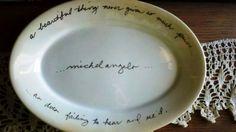 Oval Vintage Homer Laughlin China Platter by GunnySackRace on Etsy, $16.95