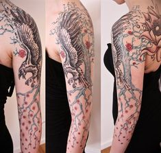 Image result for tattoo sleeves for women #tattooswomenssleeve