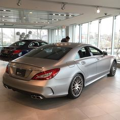 Would you buy this 2016 CLS63 AMG-S? Pretty sick Matte Grey finish on it! by itsjoshyscar507