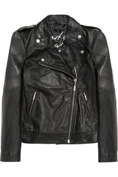 Omar quilted leather biker jacket by Karl Lagerfeld | Apprl - Social Shopping