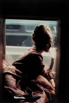 Saul Leiter, Lily Moore, Harper's Bazaar, c.1963