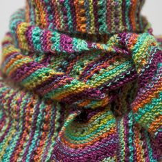 free lacey baktus pattern on ravelry....  love this yarn...all the colors