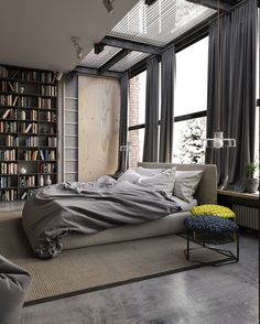Industrial Style trend of the moment! Do yo like this style?  Apartment in #Kiev designed by Ruslan Kovalchuk #d_signers Dsigners.net (Link on Bio) by d.signers