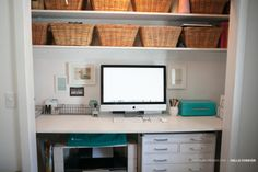 SPRUCING UP THE CLOSET/OFFICE » Marcy Penner   good inspiration image