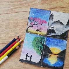 🖌️🌌☁️🌄🌅🖌️👨🎨#dibujos #dibujo #arte #artinstallation #art #artistsoninstagram #colores #colorear #colors #colors_of_day Installation Art, Colors, Artist, Instagram, Dibujo, Artists, Colour, Color, Art Installation