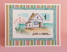 Art Impressions Watercolor - Beach Scene by howdyheidi - Cards and Paper Crafts at Splitcoaststampers