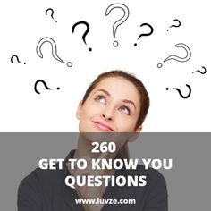 Check out these fun and interesting get to know you questions you can ask someone. These are good for couples, friends, new dates or family members.