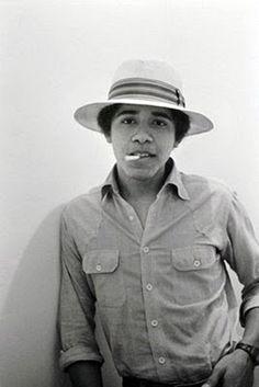 President Obama as a teen.