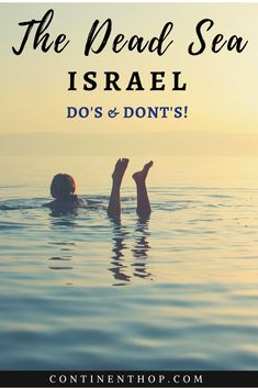 Dead Sea Do's and Don'ts Love Israel? Planing to visit Israel?Things to do in Israel & travel accessories ideas Travel Advice, Travel Guides, Travel Tips, Travel Vlog, Disney Travel, Travel Channel, Time Travel, Places To Travel, Travel Destinations