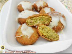 Polpette di zucchine pane e prosciutto  Blog Profumi Sapori & Fantasia