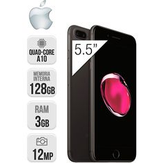 Apple IPhone 7 Plus 128GB Negro Mate https://www.intertienda.es/tienda/moviles/apple-iphone-7-plus-128gb-negro-mate/