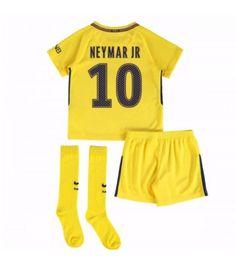 Fotbollskläder Barn PSG Neymar Jr 10 Bortadräkt Barn 17-18