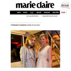 #marieclaire #magazine #party with #glam @eleonoreboccara wearing #guillarme #christopheguillarme dress #hairdress #erosgiuliani at the #arte boat #cannes #festivaldecannes #cannesfilmfestival #instamode #instafashion #instaglam #fashion #celebrity