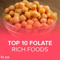 Top 10 High Folate Foods - DrAxecom click now for more. Foods High In Folate, Folic Acid Foods, Natural Cancer Cures, Natural Cures, Real Food Recipes, Healthy Recipes, Healthy Green Smoothies, Cancer Fighting Foods, Be Natural