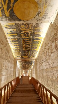 Tomb of Ramses VI, 12th cent. BCE #egypt