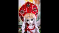 Making Russian style tiara crown - Kokoshnik for MSD BJD doll Russian Style, Russian Folk, Russian Fashion, Monster High Clothes, Snow Maiden, Diy Crown, Tiaras And Crowns, Bjd Dolls, Diy For Kids
