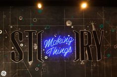 Tell us about your most innovative creation! Maker Labs, Retail Concepts, New Theme, Design Thinking, Garages, Innovation, Neon Signs, How To Make, Industrial