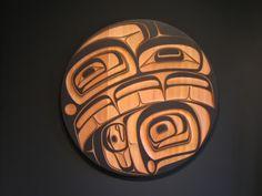 Whale Panel by Phil Gray (Tsimshian/Cree).