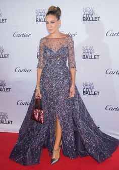 Sarah Jessica Parker's sparkling gown at the 2015 New York City Ballet Fall Gala