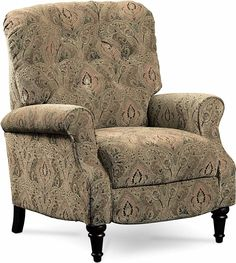 Belle High Leg Push Back Recliner Chair | Lane | Home Gallery Stores