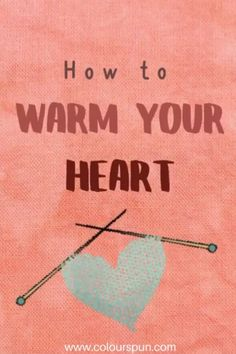 Do some charity knitting!  #knittingforcharity #knitted Knitting For Charity, Fabric Yarn, Your Heart, Fabric Design, Weaving, Stitch, Quotes, Quotations, Full Stop